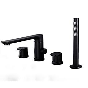 preiswerte Neu Eingetroffen-Duscharmaturen Chrom Andere Keramisches Ventil Bath Shower Mixer Taps