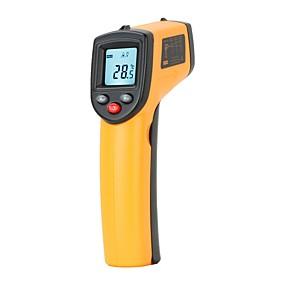 levne Super Sleva-digitální gm320 bezkontaktní infračervené teploměr teplota pyrometr ir laser bod