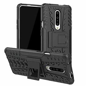preiswerte Telefone & Zubehör-Hülle Für OnePlus OnePlus 6 / One Plus 6T / Ein Plus 7 Geprägt Rückseite Solide Hart PC