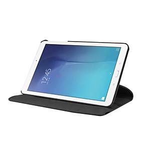 preiswerte Markensalon-Hülle Für Samsung Galaxy Tab E 9.6 360° Drehbar / Stoßresistent / mit Halterung Ganzkörper-Gehäuse Solide Hart PU-Leder