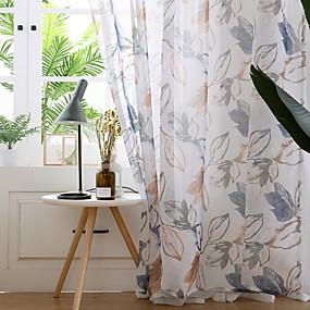 preiswerte Versandkostenfrei-Moderne Durchsichtig Ein Panel Durchsichtig Schlafzimmer   Curtains