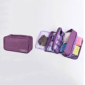 preiswerte Handgepäck Taschen-Oxford Tuch Reißverschluss Handgepäck Volltonfarbe Alltag Purpur / Himmelblau / Dunkelrot / Herbst Winter