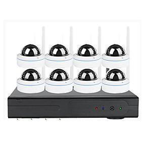 preiswerte Schutz & Sicherheit-8-Wege-Überwachungssuite mit 1,3-Megapixel-Überwachung, hd, mobile Überwachung, Wifi-Kamera