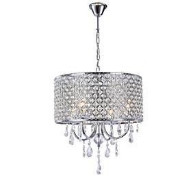preiswerte Haus & Garten Ausverkauf-Hochwertige Wohnzimmer Kronleuchter europäischen Luxus Kristall Eisen Pendelleuchte Studie Schlafzimmer Esszimmer Lampen und Laternen