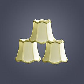 billige LED-gadgets-lampeskjerm Øyebeskyttelse / Ambient Lamper / Bedårende Kunstnerisk / Moderne Moderne Til Soverom / Innendørs Stof Gul