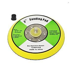 preiswerte Werkzeuge-toolman 5 Klettbackplatte zum Polieren von Schleifpolierkissen
