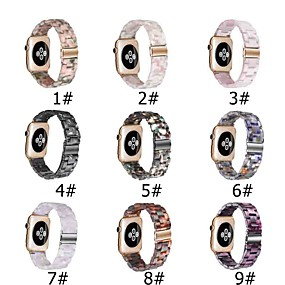 cheap Smartwatch Bands-Watch Band for Apple Watch Series 6 SE 5 4 3 2 1  Apple Modern Buckle Ceramic Wrist Strap