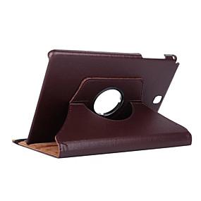 preiswerte Markensalon-Hülle Für Samsung Galaxy Tab A 9.7 360° Drehbar / Stoßresistent / mit Halterung Ganzkörper-Gehäuse Solide Hart PU-Leder