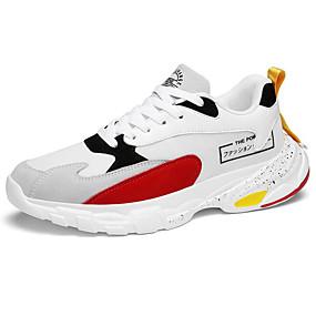 povoljno Cipele i torbe-Muškarci Udobne cipele PU Proljeće Atletičarke tenisice Trčanje Obala / Bež / Sive boje