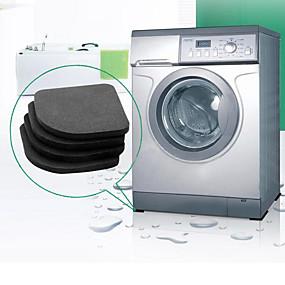levne Podložky a koberečky-pračka anti-vibrační podložka rohože protiskluzové nárazové podložky rohože lednice 4ks / set kuchyně koupelnové doplňky koupelna mat
