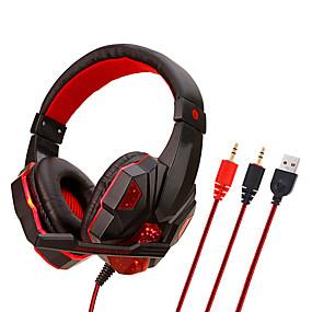 voordelige Gaming-upgrade draadloze bluetooth hoofdtelefoons headsets met ovale ronde oorbeschermer voor comfortabel dragen