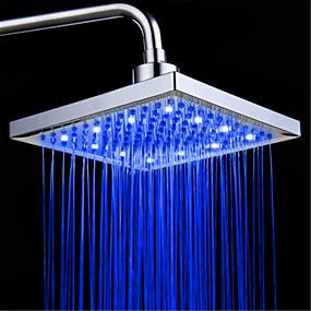 cheap Shower Heads-Contemporary Rain Shower Electroplated Feature - LED / Premium Design / Shower, Shower Head