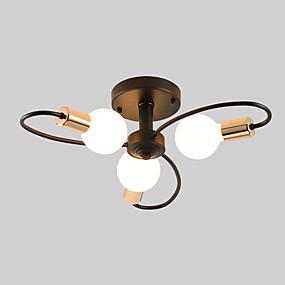 preiswerte Einbauleuchten-JSGYlights 3-Licht Sputnik Einbauleuchten Raumbeleuchtung Lackierte Oberflächen Metall Neues Design 110-120V / 220-240V / E26 / E27