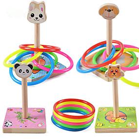 preiswerte Bouncy Bälle-Rabbit Hunde Löwe lieblich Eltern-Kind-Interaktion Holz / Bambus Kinder Alles Spielzeuge Geschenk