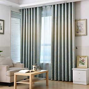 preiswerte Verdunkelungsvorhänge-Europäisch Verdunkelung Ein Panel Vorhang Schlafzimmer   Curtains