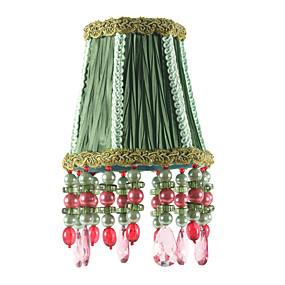 preiswerte LED-Gadgets-3 kleine Lampenschirme / Kronleuchterlampenschirme / Stofflampenschirme / 5-Zoll-Lampenschirme / hübsche Perlenlampenschirme