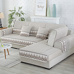 cheap Happy New Year!-Sofa Cover / Sofa Cushion Contemporary Quilted Cotton Slipcovers