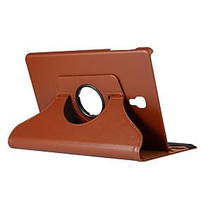 preiswerte Tablet Zubehör-Hülle Für Samsung Galaxy Tab A2 10.5(2018) T595 T590 360° Drehbar / Stoßresistent / Automatisches Schlafen / Aufwachen Ganzkörper-Gehäuse Solide Hart PU-Leder