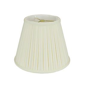 preiswerte LED-Gadgets-Traditionell-Klassisch Mehrere Lampenschirme / Augenschutz / Neues Design Lampenschirm Für Esszimmer / B¨¹ro Stoff Weiß / Gelb
