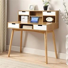 preiswerte Schreibtische-Holz Modern Schreibtische Arbeitszimmer
