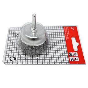 preiswerte Werkzeuge-gecrimptes Stahldrahtbürstenset 2 x 1/4 1-1 / 8 für Dewalt&Ampere; geschickte Bohrmaschine