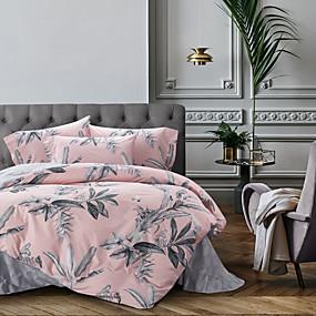 povoljno Kućni tekstili-Poplun Cover Sets Suvremeno Pamuk S printom 4 komadaBedding Sets