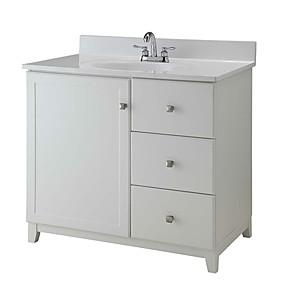 preiswerte Badezimmermöbel-Holz Modern Eitelkeiten Bad
