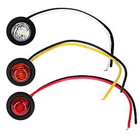 preiswerte Automobil-2 stücke auto glühbirnen 1 w 80 lm led nebelscheinwerfer / blinker / seitenmarkierungsleuchten für universal allgemeine motoren alle jahre