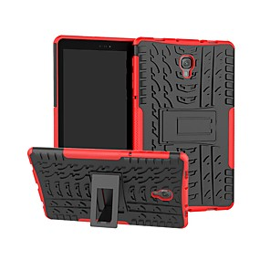 cheap Samsung Case-Case For Samsung Galaxy Tab S4 10.5 (2018) / Tab A2 10.5(2018) T595 T590 / Tab S3 9.7 Shockproof / with Stand Back Cover Armor Hard PC