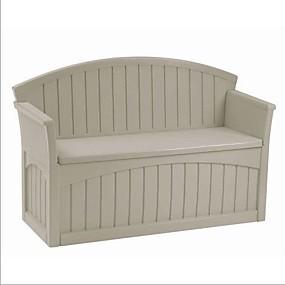 preiswerte Outdoor-Bänke-Außenterrasse Gartenbank mit 50-Gallonen-Stauraum unter dem Sitz