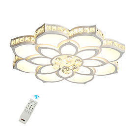 cheap Dimmable Ceiling Lights-1-Light 68 cm Crystal / Creative / Dimmable Flush Mount Lights Metal Acrylic Crystal / Geometrical / Novelty Painted Finishes LED / Modern 110-120V / 220-240V / FCC