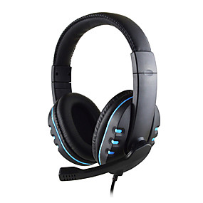 voordelige Gaming-bedrade stereo pro hoofdtelefoon gaming headset 3,5 mm jack voor Sony playstation4 ps4 ps3 controller pc game hoofdtelefoon met microfoon