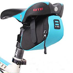 preiswerte Fahrradsatteltaschen-B-SOUL 0.5 L Fahrrad-Sattel-Beutel Wasserdicht Tragbar Langlebig Fahrradtasche Terylen Tasche für das Rad Fahrradtasche Radsport Rennrad Geländerad Draußen