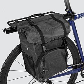 preiswerte Radtaschen-ROSWHEEL 15 L Fahrradsatteltasche Hohe Kapazität Wasserdicht Langlebig Fahrradtasche Stoff 300D Polyester Tasche für das Rad Fahrradtasche Radsport Rennrad Geländerad Draußen