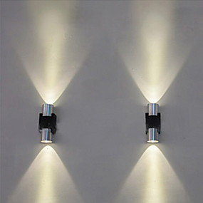 povoljno Sales-Kreativan / Cool Jednostavan / Suvremena suvremena Zidne svjetiljke Stambeni prostor / Magazien / Cafenele Metal zidna svjetiljka IP44 AC100-240V 1 W