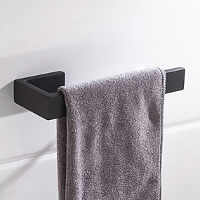 povoljno Šipke za ručnik-ručnik vrhunski dizajn / kreativan savremeni / moderni nehrđajući čelik / nehrđajući čelik / glačalo / metal 1pc - kupaonski ručnik na zid