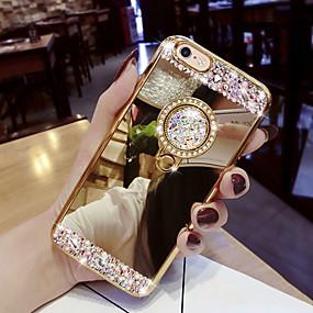 povoljno Maske za mobitele-Θήκη Za Samsung Galaxy S9 / S9 Plus / S8 Plus Štras / sa stalkom Stražnja maska Šljokice Tvrdo Opeka