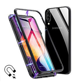 povoljno Maske za mobitele-magnetno magnetska adsorpcija metalna staklena kutija za Samsung Galaxy a70 a50 kućišta poklopac za Samsung Galaxy a40 a30 a20 a10 a9 2018 a7 2018