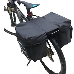 preiswerte Radtaschen-Fahrrad Kofferraum Tasche / Fahrradtasche Fahrrad Kofferraum Taschen Regendicht Rasche Trocknung tragbar Fahrradtasche 600D Ripstop Tasche für das Rad Fahrradtasche Radsport Outdoor Übungen