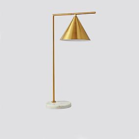 preiswerte Beleuchtung mit Stil-Einfach / Moderne zeitgenössische Kreativ / Neues Design Tischleuchte / Schreibtischlampe Für Wohnzimmer / Studierzimmer / Büro Metall 110-120V / 220-240V Gold