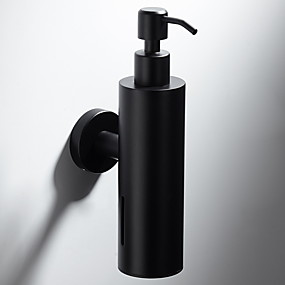 cheap Soap Dispensers-Pump Head Soap Dispenser Premium Design / Cool Modern Stainless steel 1pc Wall Mounted