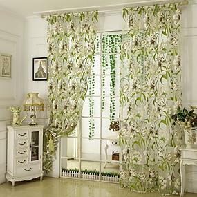preiswerte Versandkostenfrei-Moderne Ein Panel Durchsichtig Schlafzimmer   Curtains
