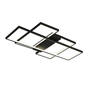 povoljno Stropna svjetla i ventilatori-QINGMING® Geometrijski Flush Svjetla Ambient Light Slikano završi Metal Mini Style, Zatamnjen, LED 110-120V / 220-240V Meleg fehér / Hladno bijela / Zatamnjen daljinskim upravljačem