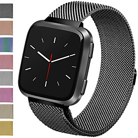 cheap Smartwatch Bands-Watch Band for Fitbit Versa Fitbit Milanese Loop Stainless Steel Wrist Strap