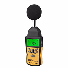levne Super Sleva-oficiální holdpeak hp-882a profesionální mini digitální zvuková hladina hluku měřič decibel monitorovací indikátor tester 30 db až 130 db