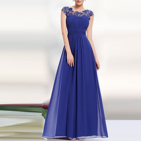 preiswerte This Summer You Are The Most Fashionable-Damen Party Elegant Spitze Swing Kleid - Rückenfrei, Solide Maxi