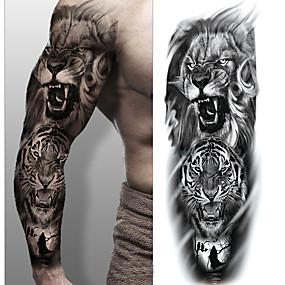 preiswerte Temporäre Tattoos-3 pcs Temporary Tattoos Umweltfreundlich / Wegwerfbar Korpus / Brachium / zurück Kartonpapier