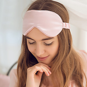 cheap Eye Care-Sleep mask Eye Patch 1 Piece Casual Unisex 100% Silk