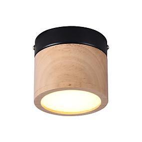 billige Gangbelysning-1-lys 10 cm mini stil / kreativ / LED innfelt lys metall tre / bambus sirkel / geometrisk / mini tre vintage / retro 110-120v / 220-240v / fcc / vde