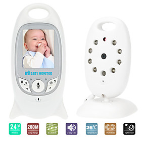 preiswerte Baby Monitore-video baby monitor vb601 wireless infant radio kindermädchen musik intercom nightvision tragbare babykamera walkie talkie babysitter